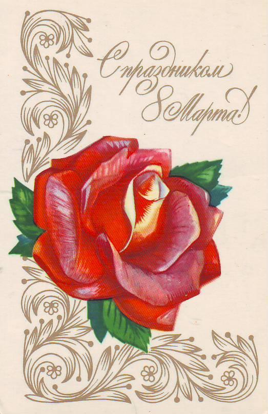 Малышом памперсе, открытки к 8 марта розы